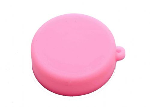 Soft Silicone Pink Camera Lens Protective Cover Cap for GoPro Hero 3/3+/4